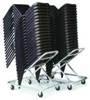 Transport- und Lagerwagen für ergonomische Stühle