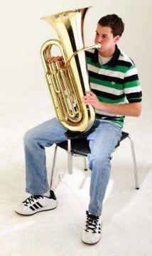 Tuba Stütze für den Stuhl Nota