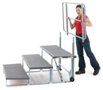 Rückengeländer Tourmaster - 1,2 m